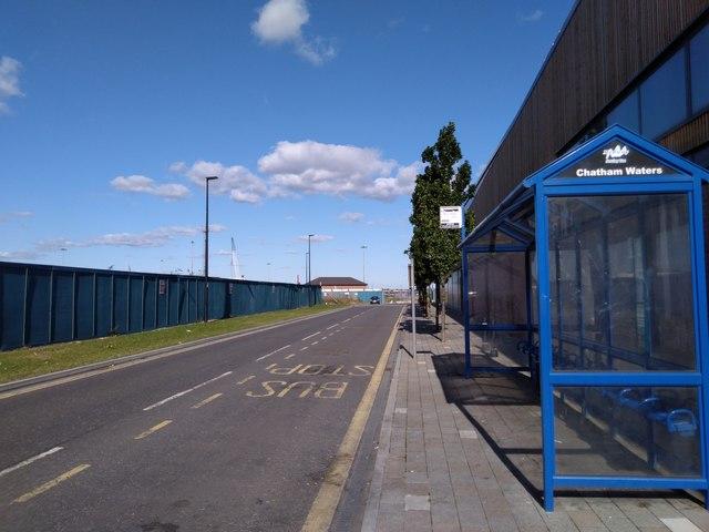 Bus Stop on Dynamo Way