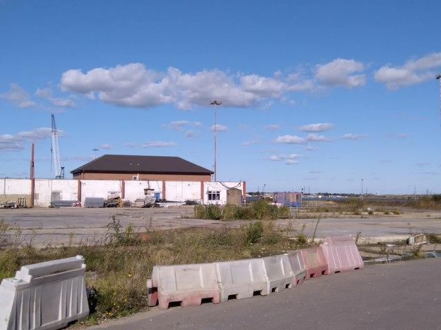 Empty Peel Ports