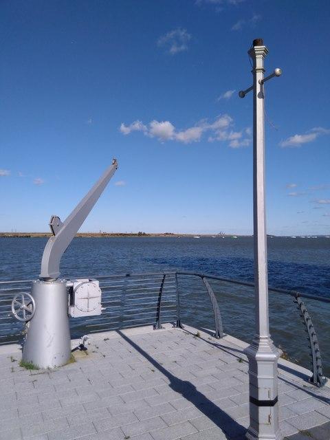 End of Gillingham Pier