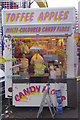 SK5641 : Toffee apples and candy floss - Goose Fair by Stephen McKay