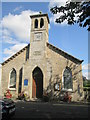 NT5618 : Denholm  Parish  Church  alongside  village  green by Martin Dawes