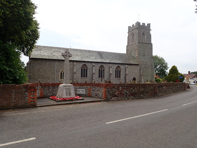 St Mary's Church and War Memorial
