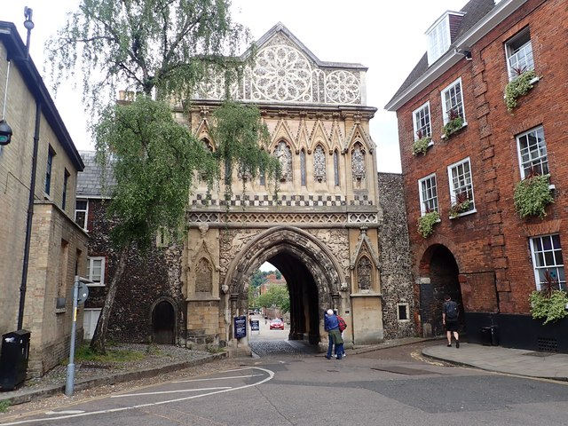 Ethelbert Gate, Norwich Cathedral
