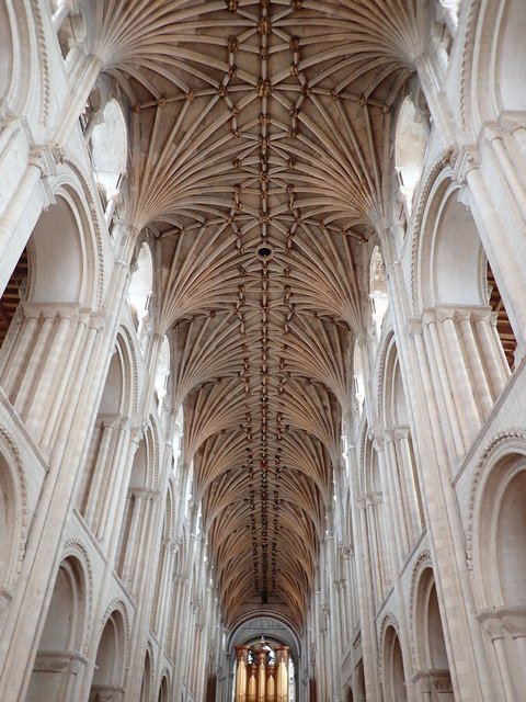 Fan vaulting, Norwich Cathedral