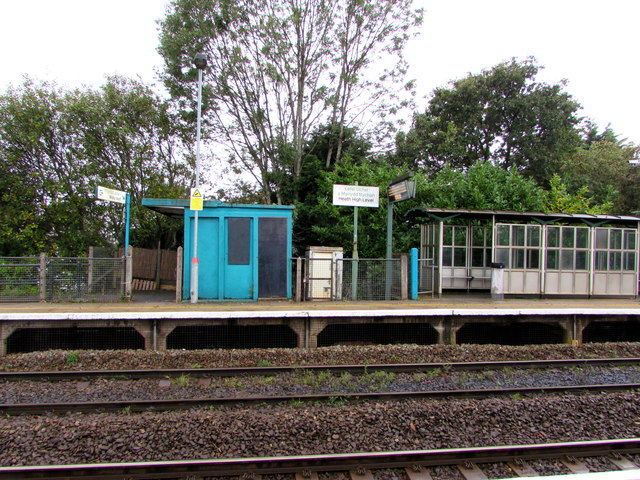 Platform 1, Heath High Level railway station, Cardiff