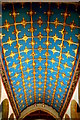 TL8563 : Chancel ceiling in St Mary's by Tiger