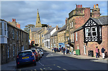 NU2410 : Northumberland Street, Alnmouth by Jim Barton