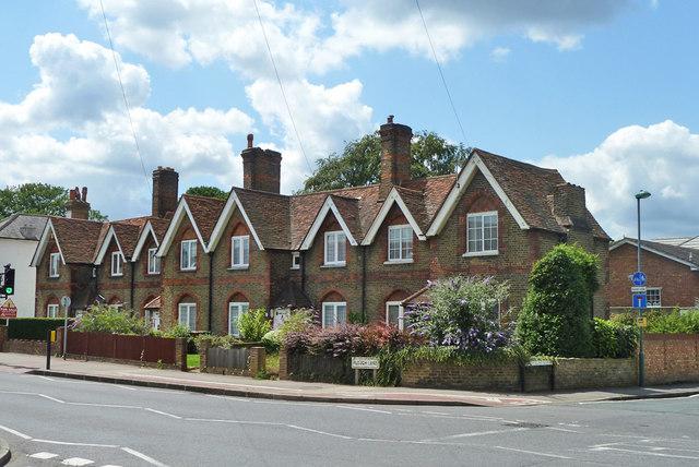 Cottages on Plough Lane, Beddington