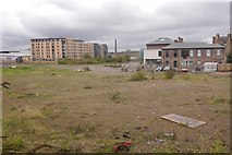 NT2472 : Fountainbridge Brewery site by Richard Webb