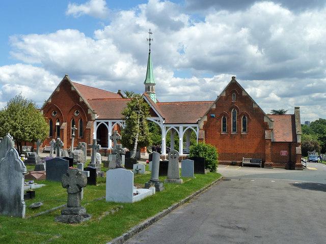 Chapel buildings, Bandon Hill cemetery