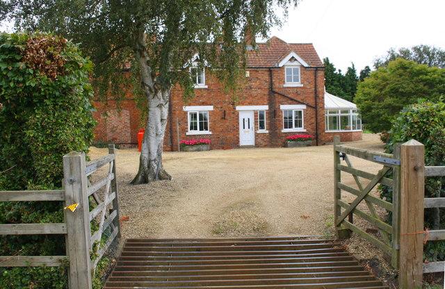Entrance to farmhouse at Echo Farm