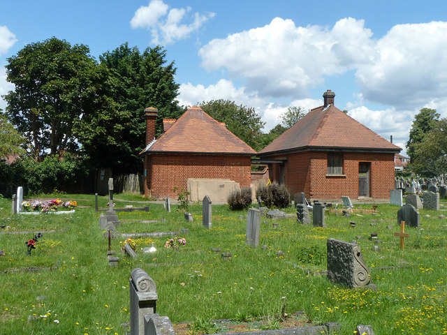 Buildings in Bandon Hill cemetery