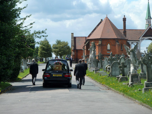 The final journey, Bandon Hill Cemetery