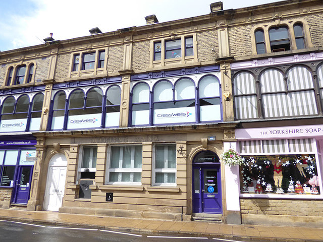 Former Martins Bank, Market Street, Hebden Bridge