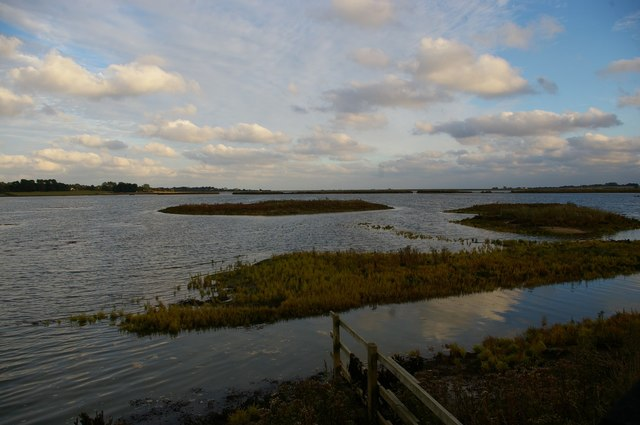 Former Hazlewood Marshes, from the Eric Hosking Hide