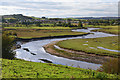 NU2411 : The River Aln by Jim Barton
