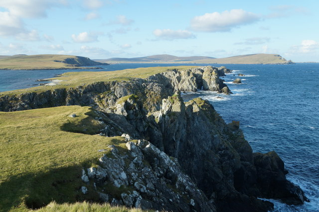 North end of Balta from Muckle Head