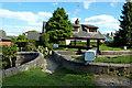 SJ9688 : Footbridge at Marple Locks No 11 east of Stockport by Roger  Kidd