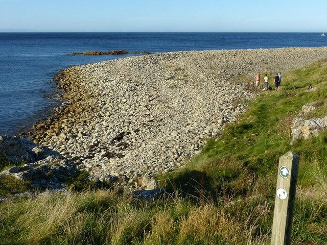 Moray Coast Trail, Scarf Craig