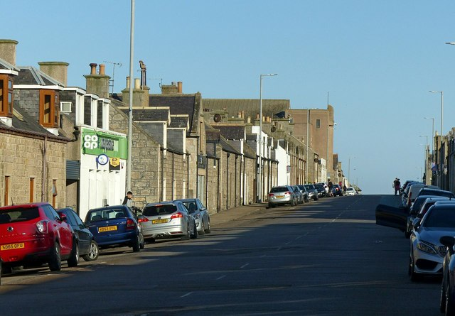 Queen Street, Lossiemouth