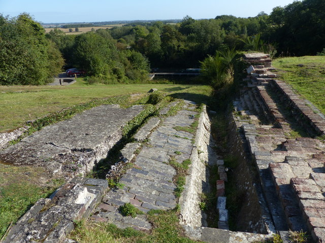 Remains of Foxton inclined plane