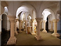SO8554 : The Crypt of St Wulfstan, Worcester Cathedral by David Dixon
