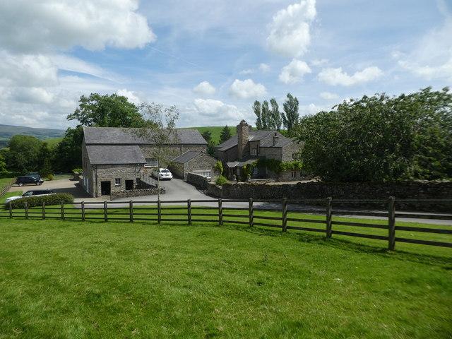 Sellet Hall farm near Kirkby Lonsdale