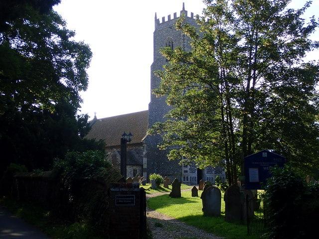 The Church of St John the Baptist, Reedham