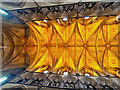 SO8554 : Decorative Ceiling at Worcester Cathedral - without the aid of mirrors by David Dixon