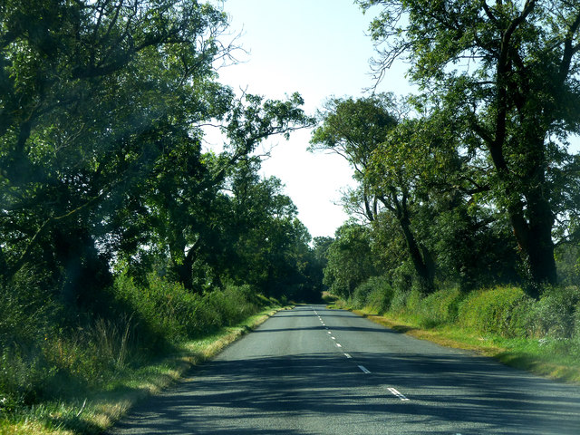 Road between Cold Ashby and West Haddon