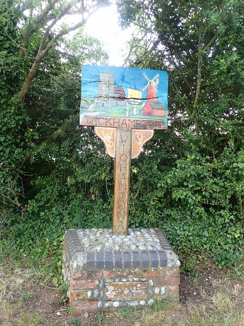 Wickhampton Village Sign