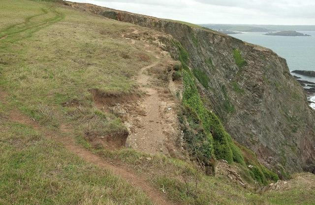 Clifftop above Beacon Beach