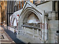 SO8554 : Worcester Cathedral - Unrestored by David Dixon