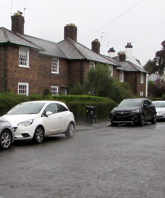 Cars and houses, Pen-y-dre, Rhiwbina, Cardiff