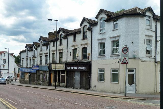 Parade of shops for sale, Whitehorse Road, Selhurst
