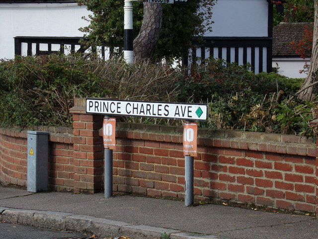 Prince Charles Avenue sign