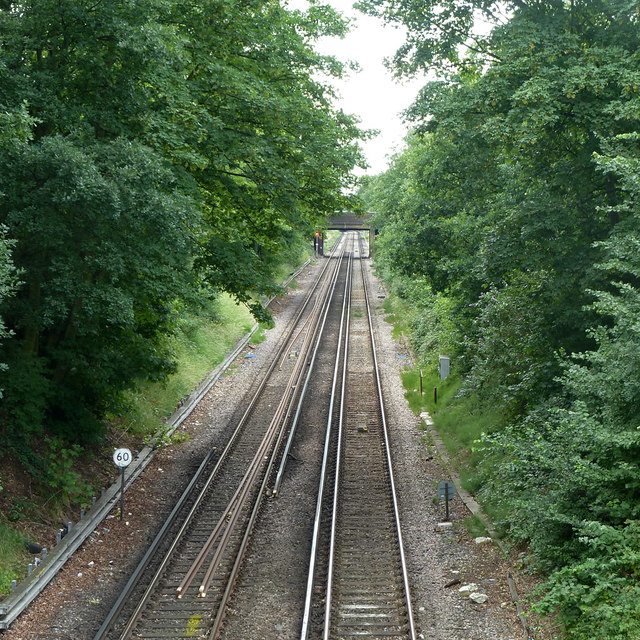 Railway towards West Croydon