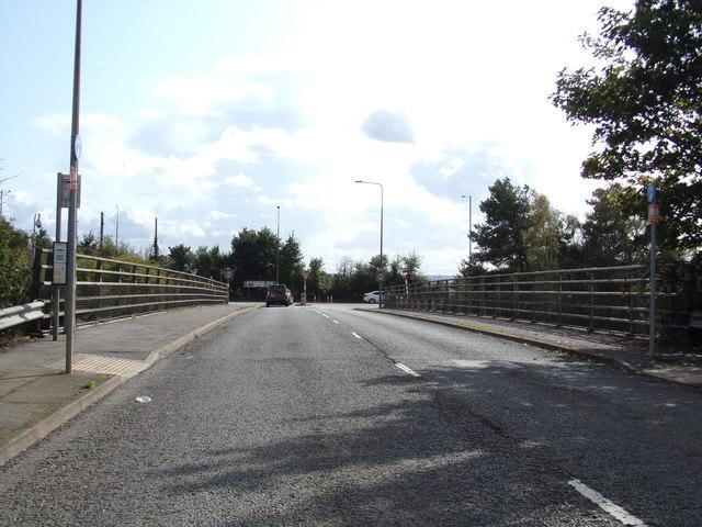 Rectory Road Bridge over the A13