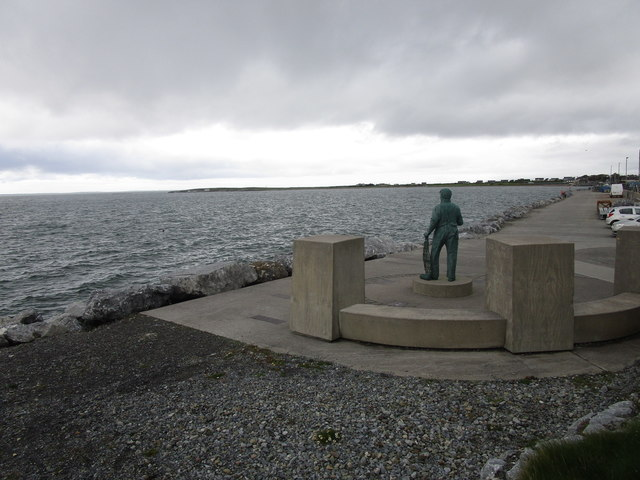 Fishing monument at Fenit