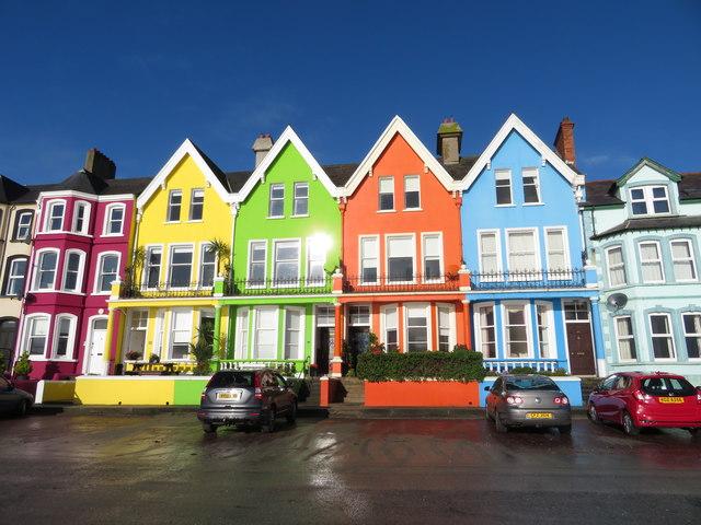 Houses on Marine Parade, Whitehead
