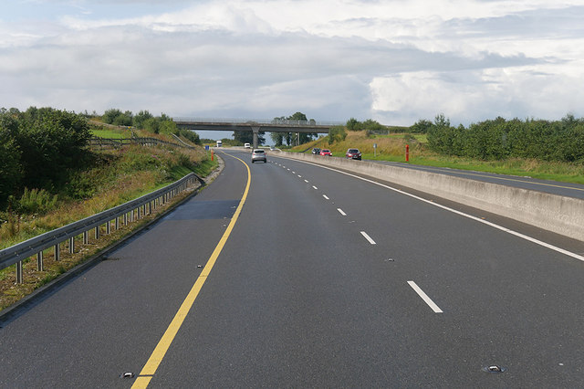Westbound M7, County Offaly