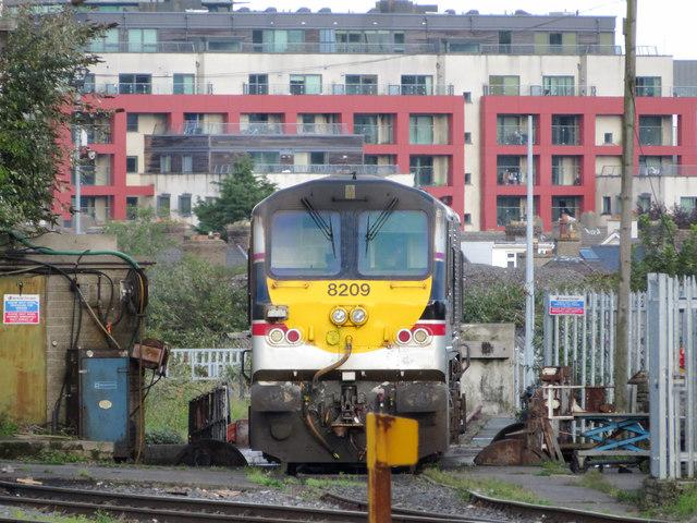 201 class locomotive in Dublin