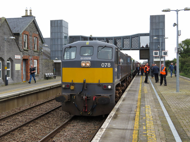Railtour at Ballybrophy