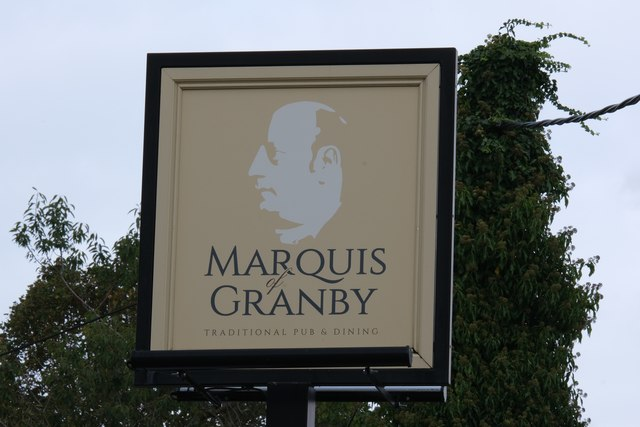 Pub sign - The marquis of Granby