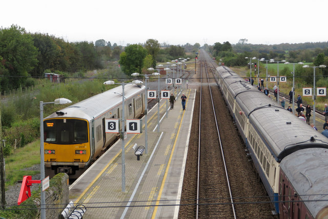 Ballybrophy station