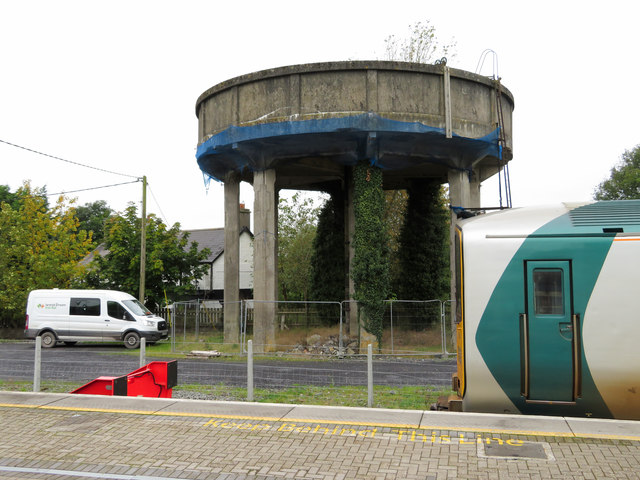 Watertower at Ballybrophy station
