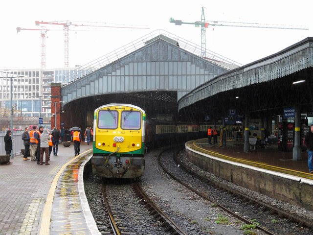 Railtour at Cork