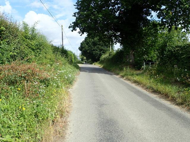 Tunstall Road at Halvergate