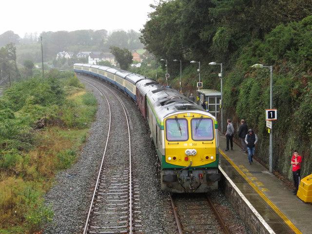 Railtour at Carrigaloe