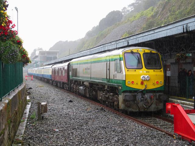 Railtour at Cobh